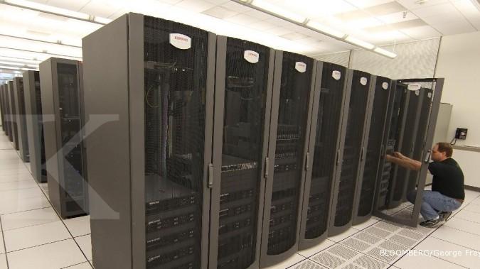 Server Penunjang Teknologi Informasi Perbankan
